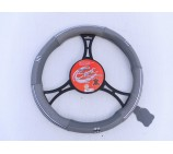 VW Transporter T5 Van models SWC 2M Grey Leather Steering Wheel Cover
