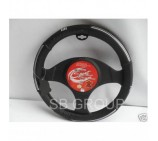 Citroen Nemo Van models SWC 2M Black Leather steering wheel cover