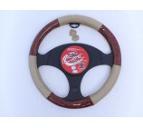 Ford Fiesta Van Models SWC 25M Black - Suede Leather Steering Wheel Cover
