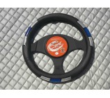 Citroen Berlingo Van Models SWP 6M Blue + Silver Steering Wheel Cover