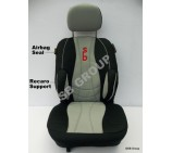 Suzuki Carry van seat covers in SB Grey 2 singles